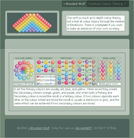 Colour according to emoticons by Wooded-Wolf