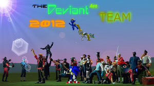 The Real DA Team 2012 Poster by bioshocked1337
