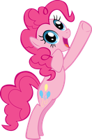 Pinkie Pie's Group photo pose by brainchildeats
