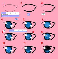 How to Make Eyes in SAI by McAwesum