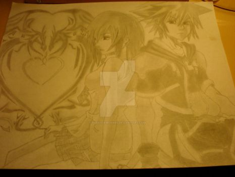 my kingdomhearts ^_^ by FurryDemon665