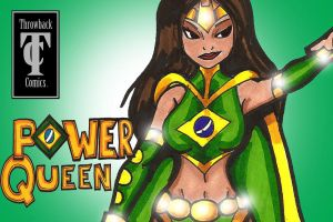 Throwback Power Queen by RWhitney75
