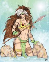 Savage Land Rogue by CrimsonArtz
