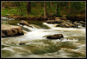 Fast River by WVUARTIST
