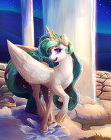 When the sun is away Celestia will play. by viwrastupr