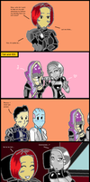 Mass Effect 3: Squad Selection by bookwormcat