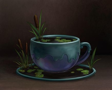 Cattail Tea by ursulav