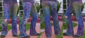 Rainbowfied Sharpie Pants by Arithusa