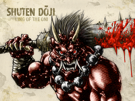 #31DaysofMonsters DAY 17: Shuten doji by franciscomoxi