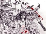 American Mcgee's Alice by doodlebunneh