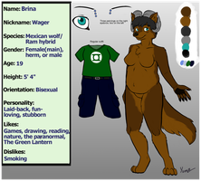 Wager Ref Sheet by Wager218
