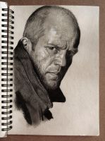 Jason Statham by Cleicha