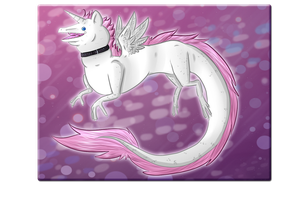 The Eelicorn by FeatheredSoap