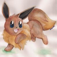 Eevee by ShonaMaryDesigns