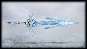 Elemental Blade Ice by Unkn0wnfear