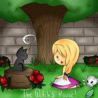 : The witch's house - fanart : by Nimmiii-tan