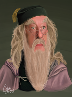 Dumbledore by ZodiacDreamer