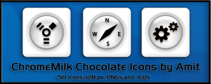ChromeMilk Chocolate Icons by amitsaraf32