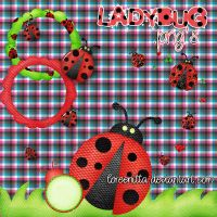 Ladybugs .png by Loreenitta