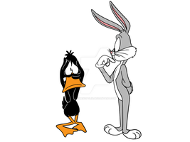 Bugs and Daffy by JIMENOPOLIX