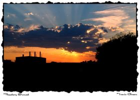 Factory Sunset by larmycreations
