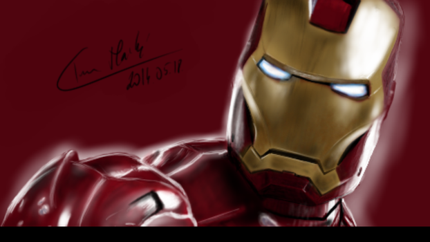 Ironman: Samsung Galaxy Note 3 Drawing Sketchbook by Lechadias