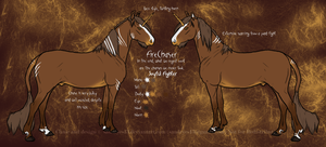 Firechaser Reference Sheet by sandeyes13