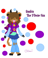 Rooka The D'Bear Fox by queeny21143