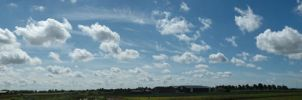Skies over North Holland by BlokkStox