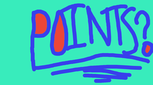 POINTS? (eye strain, maybe) by Wolfoverlordruler