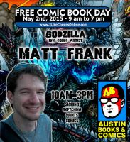 Free Comic Book Day 2015 by KaijuSamurai