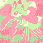 Lurantis   Colour Palette - Blooming by ChibiSo