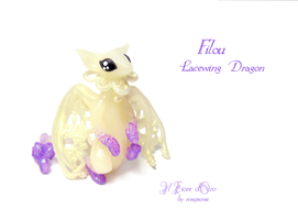 Filou, Lacewing Dragon by rosepeonie