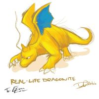 Dragon Dragonite by Dwibble
