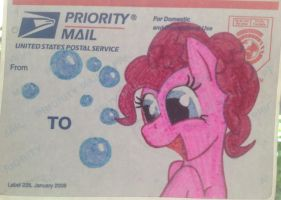 Pony mail labels by Nekogami-shingetsu