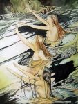 Rhinemaidens- Study of Rackham by Lamorien