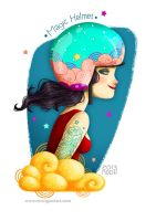 Magic Helmet by RocioGarciaART