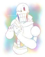 Rainbow Papyrus by RosyPumpkin