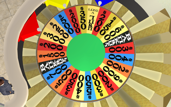 The Sims 2, Wheel Of Fortune 1983 Prize Wheel, #B by ddgjdhh