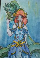 [99] SMITE - Alternate Scylla by Archergirl101