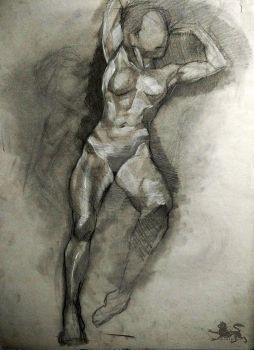 female torso study by lupodirosso