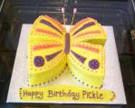 Butterfly Birthday Cake by Rebeckington