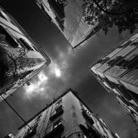 bcn 11 housecross_bw by Lunox-baik