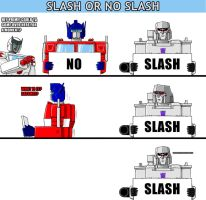 Slash Or No Slash by DarkEnergon