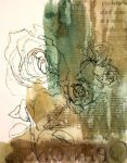 Pen and Ink Roses by ncRabbit