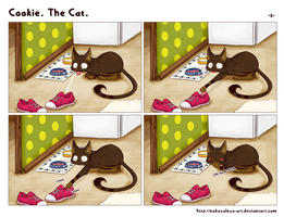 Cookie. The Cat. -- 5 -- by hickis