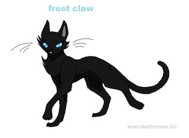 frost claw by whiteheartwarrior