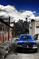 EVO VIII - Red meets Blue2 HDR by HDRenesys