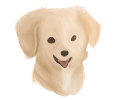 dog painting !!!!!!!!!!!!!!!!!!!!! by ghostfuck
