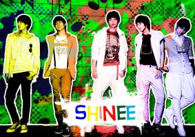 ShiNee and Colourful by GraPHriX